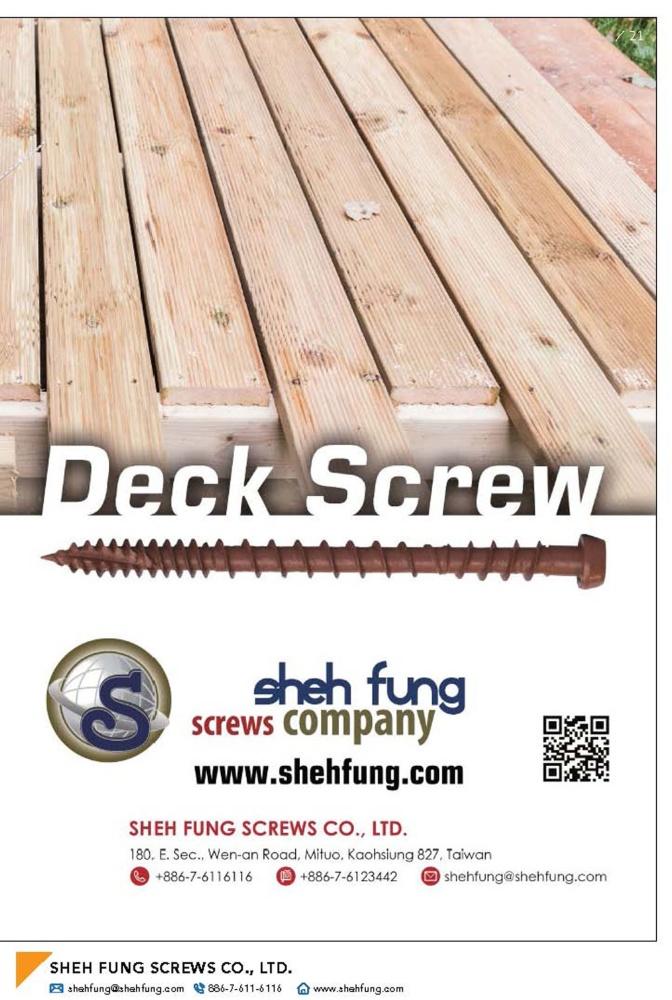 SHEH FUNG SCREWS CO., LTD.