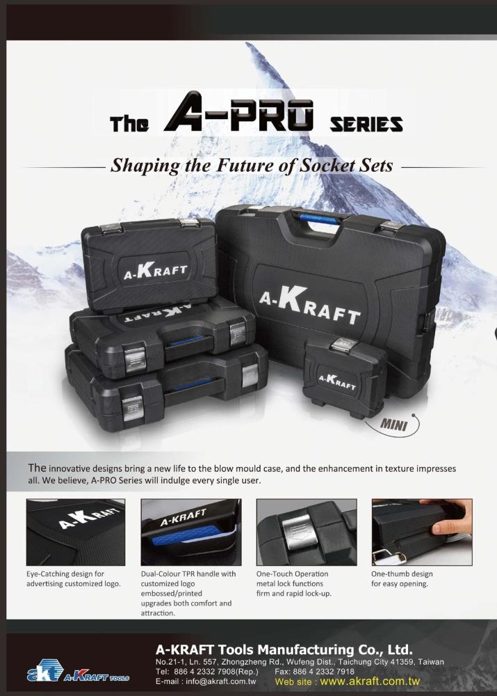 A-KRAFT TOOLS MANUFACTURING CO., LTD.