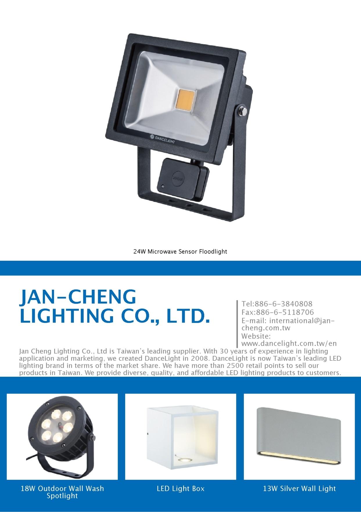 JAN-CHENG LIGHTING CO., LTD.