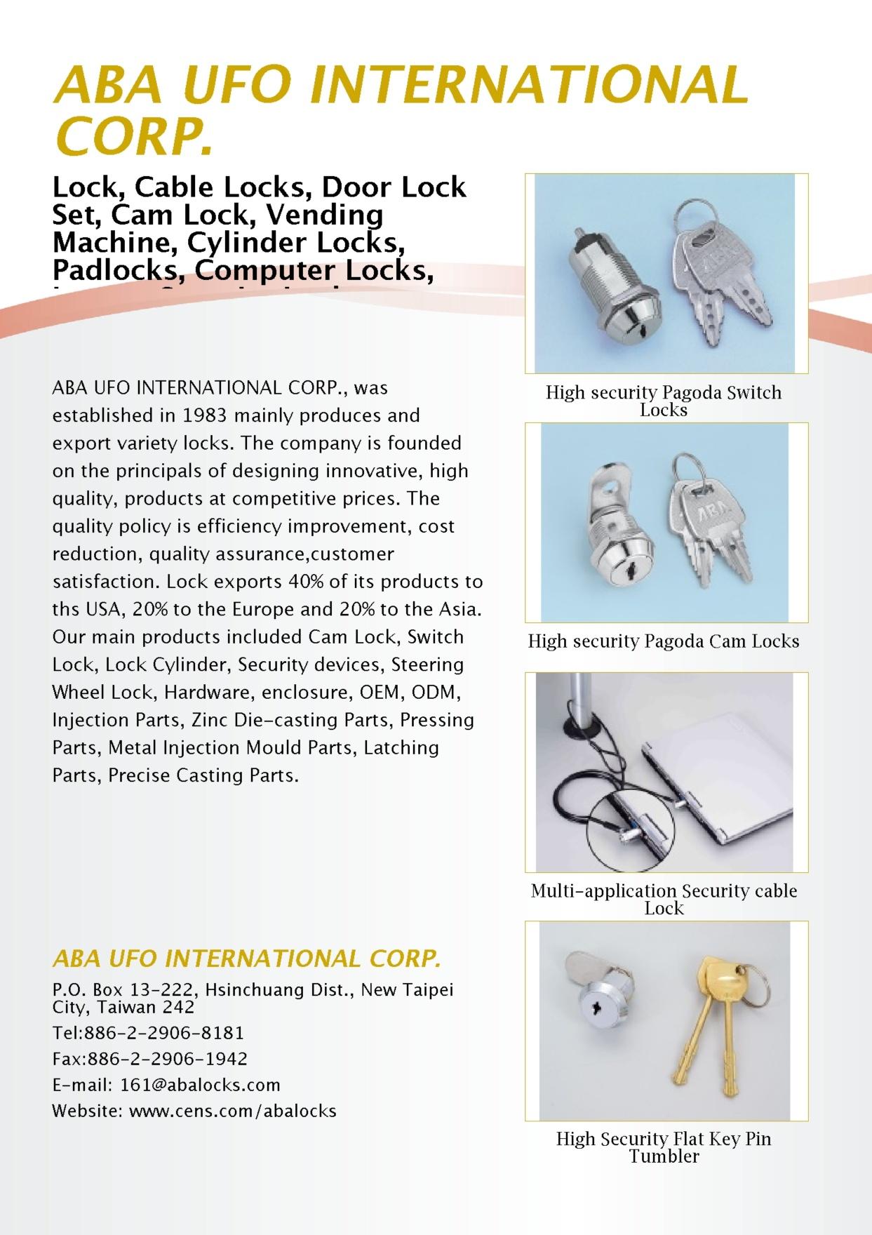 ABA LOCKS INTERNATIONAL CO., LTD.