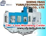 Cens.com CNC 5 Axis Machining Center 盛方源科技股份有限公司