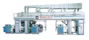 High-speed dry laminating machine developed by Worldly.