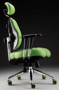 Cheng-Fong`s ergonomically designed office chairs are available in different sizes and colors.