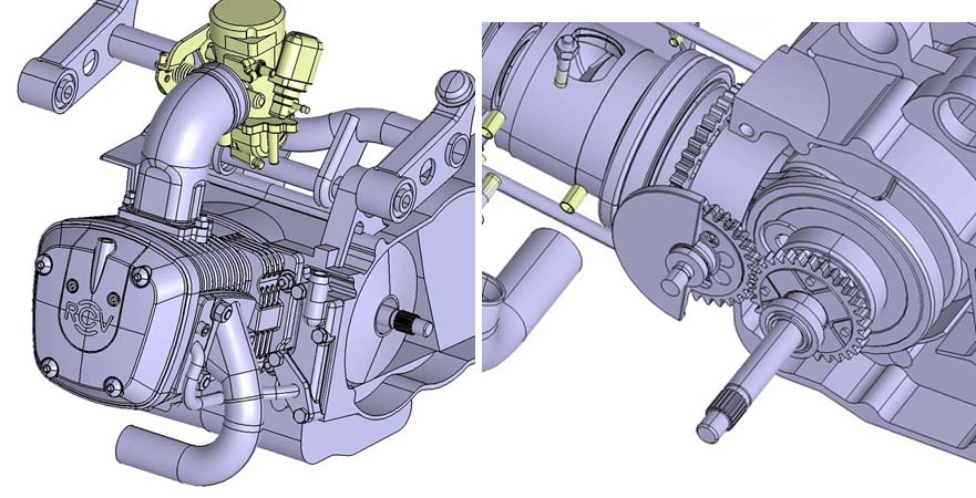 The layout of a RCV Engine.