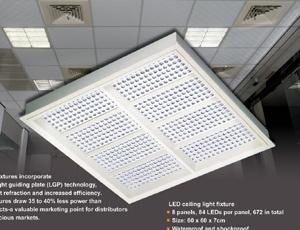 Jiin Haur`s LED T-bar lighting fixture.