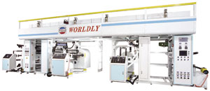 High-speed dry-wet laminating machine developed by Worldly.
