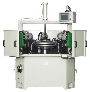 Double-walled alloy rim spoke hole drilling machine produced by Wian Jia.