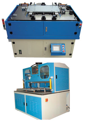 Tapping and riveting machines developed by Yida.