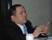 Randy Chen, general manager of Neo-Neon's Taiwan branch.