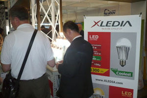 XLEDIA`s entry into Japan is helped by official promotion of LED lighting, good quality and affordability.