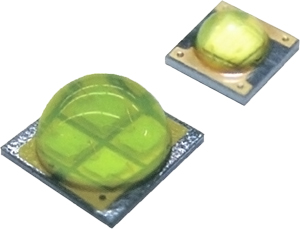 VisEra packages LED dies on silicon wafers.