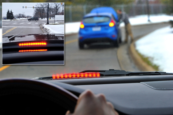 Ford has developed a vehicle communications technology that allows cars to