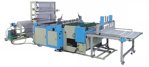 Summit builds fully automatic equipment for making PP, OPP, HDPE, LDPE, and LLDPE plastic bags.
