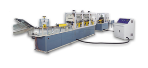 Edge protector making machine produced by Career.