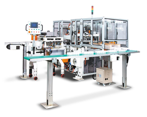 Fully automatic paper handkerchief converting line developed by Chan Li.