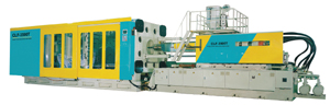 Heavy-duty plastic injection-molding machine produced by Chuan Lih Fa.