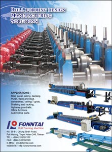 Roll forming machine developed by Fonntai.