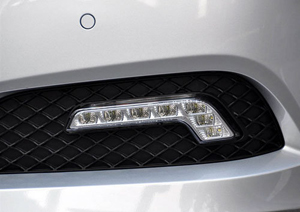 A fast-growing LED application: daytime running light (DRL).