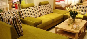 Beijing Efeng Furniture's sofa features environment-friendly board.
