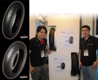 Nankang Rubber's high-end motorcycle tires, the Roadiac series.