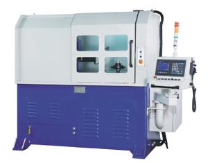 NC aluminum rim edge-cutting machine.