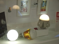 For LED manufacturers, lighting products seem more promising than backlights. (pictured are LED lamps)
