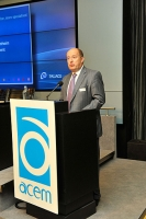 Hendrik von Kuenheim, ACEM President, addressed the 8th ACEM Conference.
