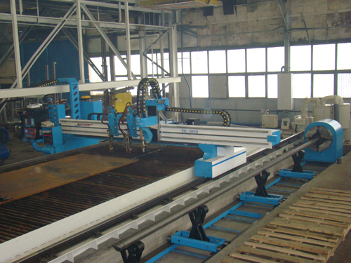 CNC water-jet cutting machine developed by Asia Machine.