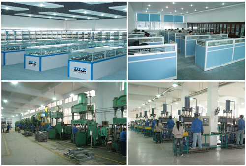 DLZ employs advanced production and quality inspection equipment along with over 500 well-trained workers to satisfy customers with reliable product quality.