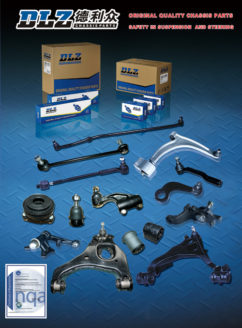 DLZ's suspension parts are all manufactured in line with TS16949 standards.