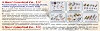 A Good Industrial Co., Ltd.</h2><p class='subtitle'>Aluminum zinc cast nuts, rivet nuts, D nuts, washer cap push nuts, screws, bolts</p>