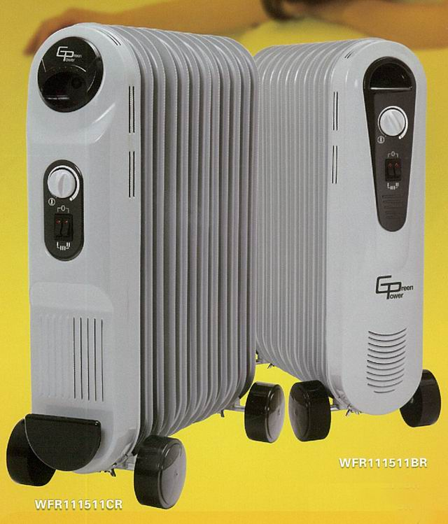 Global Unique Green Energy Technology`s Fin Water Filled Radiator Heater.