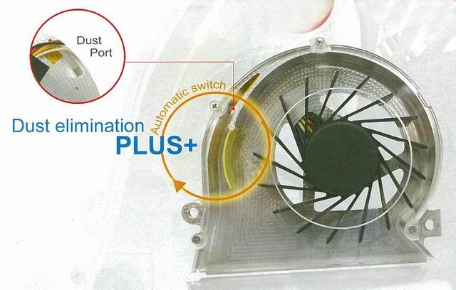 ADDA`s ADDA Duster Fan for notebook computer