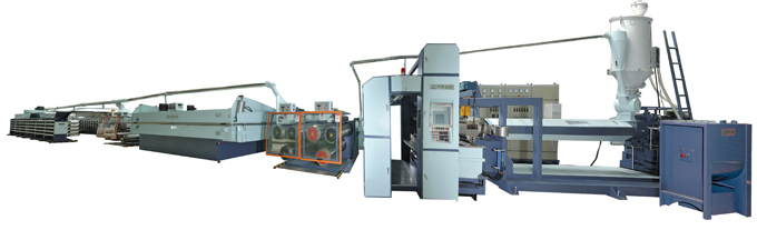 High Speed Flat Yarn Making Machine Production Speed: 380M/min