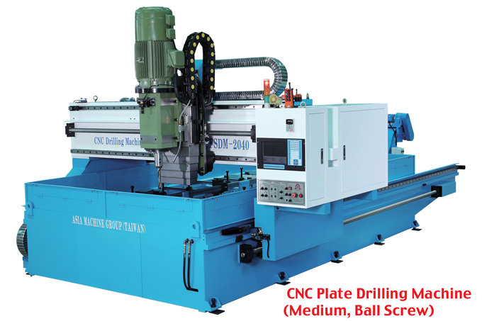 AMG supplies CNC cutting and drilling machines to over 35 countries.
