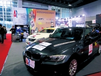 In-car infotainment systems displayed in the 2012 Guangzhou International Auto Parts and Accessories Exhibition  (Auto Guangzhou).