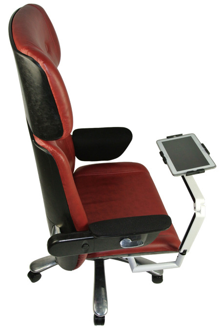 The stylish high-tech office chair will hit the market after its August debut.