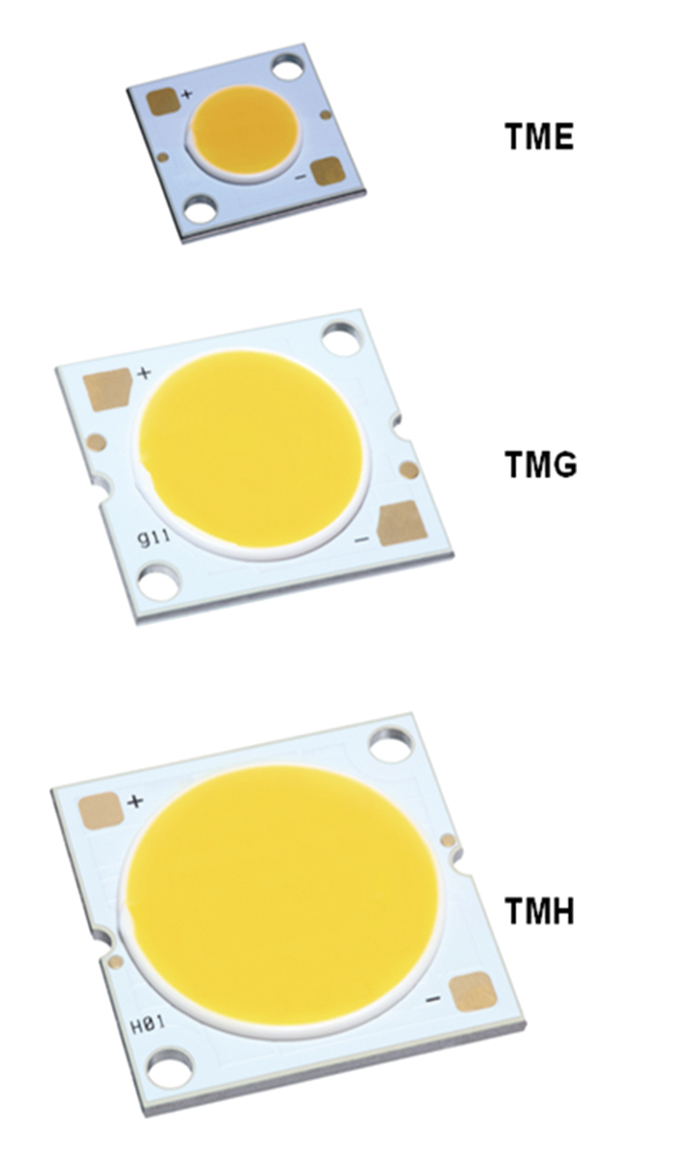 The industry's first flip-chip COB LED module, from TSMC SSL.