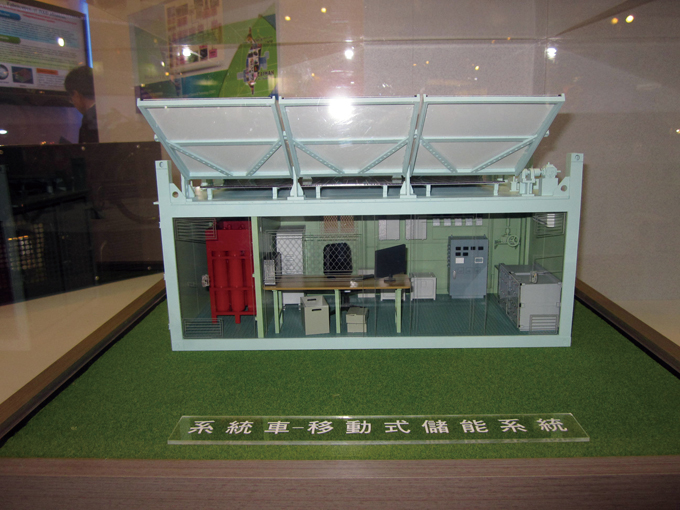 Miniaturized models for CSIST's Green EV Charging System.
