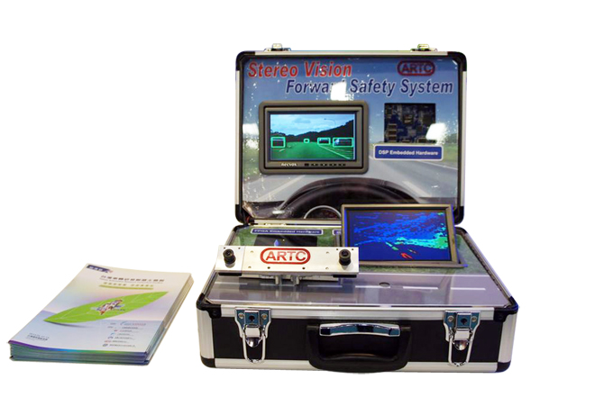 The stereo-vision forward safety (SFS) system developed by ARTC.