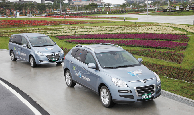 Taiwan's Yulon Group is to supply LUXGEN cars for the EV pilot project in Hangzhou.