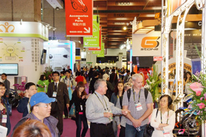 International visitors flocked to 2013 Motorcycle Taiwan and EV Taiwan at the TWTC.