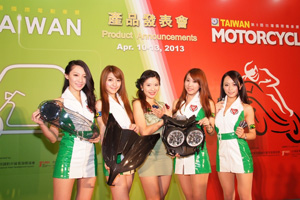 High-quality, globally-competitive motorcycle parts and accessories made in Taiwan turned the heads of global buyers.