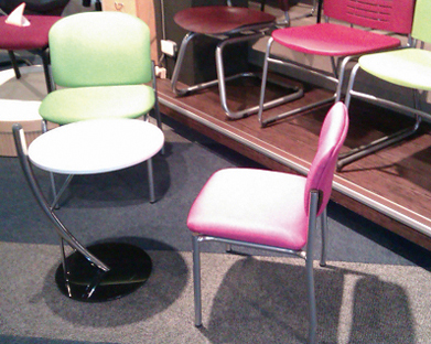 Welltrust`s metal furniture comes in a colorful array of light and bright colors.