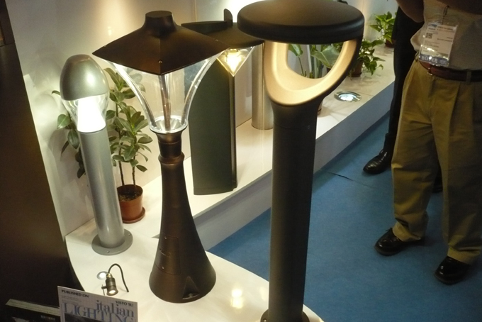 Landa Illuminotenica promoted a series of indoor and outdoor lighting.
