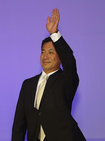 Hiroyuki Seto, president of Yamaha Taiwan.