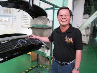 Tong Yang's vice chairman Raymond Wu.