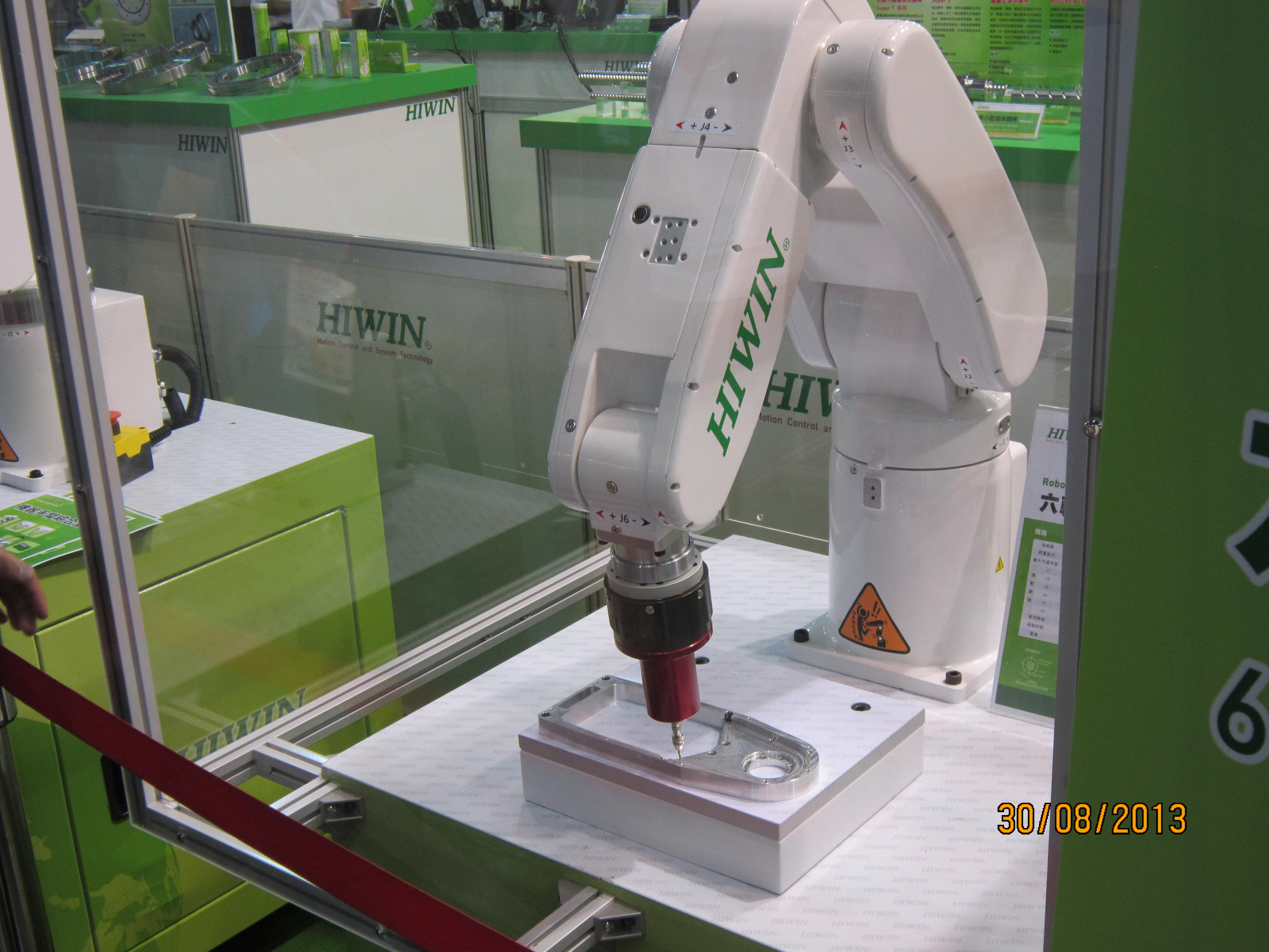Hiwin is bright about market of intelligent robots.
