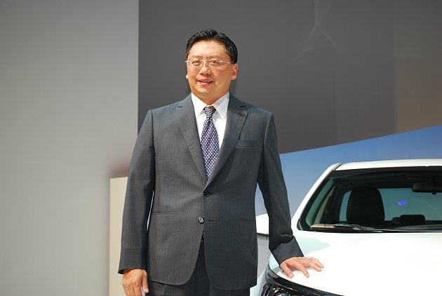 Justin Su, president of Hotai Motor