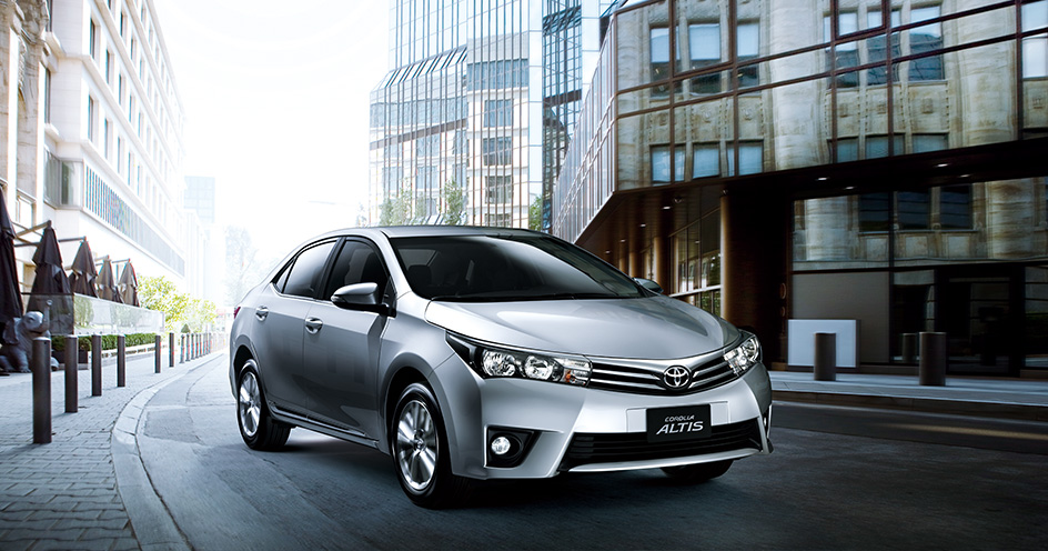 The locally assembled Toyota Altis continues to lead as the best-seller in Taiwan's domestic segment.